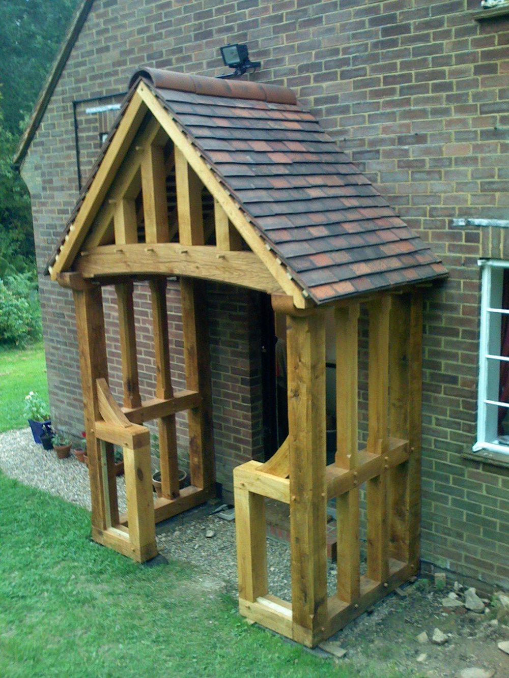 Sherborne Oak Timber Framed Porch