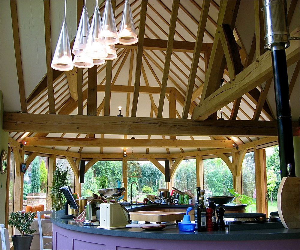 Sherborne Timber Frame Extension