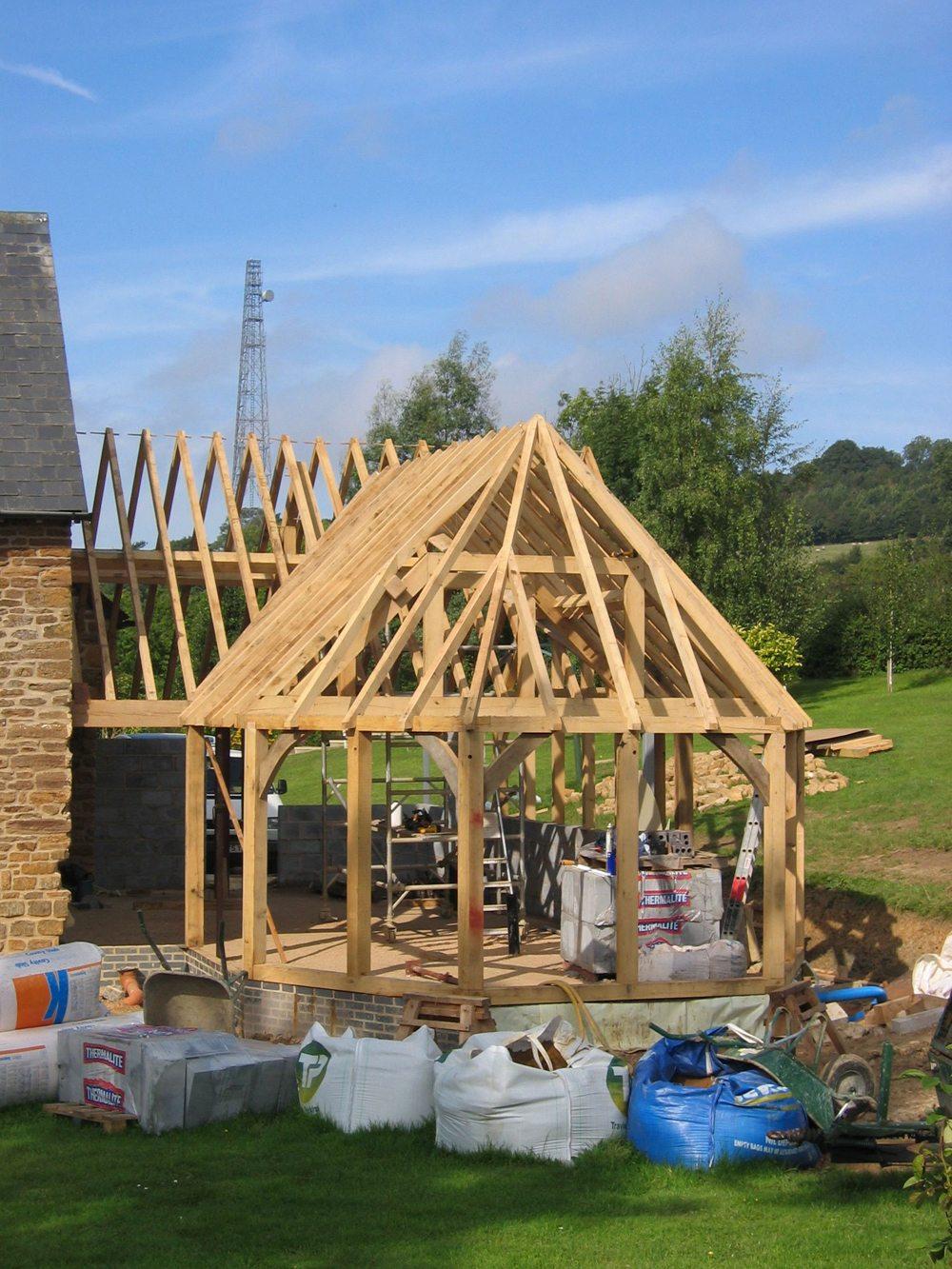 Wincanton Bespoke Oak Timber Frame Extension